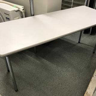 イトーキ 折りたたみ式テーブル 150×60 棚付 中古