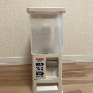 【 取引中 】ニトリ 米びつ 5kg