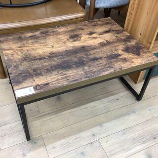 ステイン加工のニトリのローテーブルです!