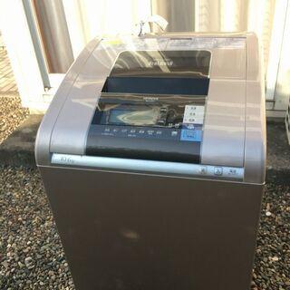 日立 洗濯乾燥機 BW-D10SV 2014年製 洗濯容量10k...