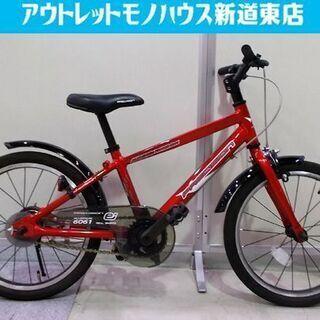子供用自転車 18インチ プレシジョン 赤 補助輪付き アサヒ ...