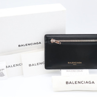 【ネット決済・配送可】《BALENCIAGA/カードケース》バレ...