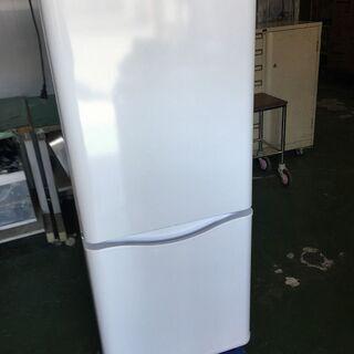 美品 2ドア冷蔵庫 白 150ℓ DR-B15DW 取説付…