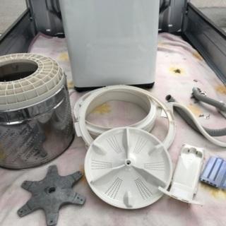 2015年製パナソニック全自動洗濯機5キロ美品。千葉県内配送無料。設置無料。 - 家電