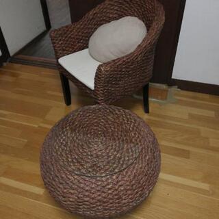 椅子、テーブルセット
