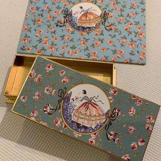 空箱 ベルギーで有名な高級チョコレート店Maryの小箱とショップ袋