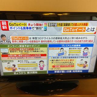 32型液晶テレビ 東芝REGZA32R1BDP BR.DVD搭...