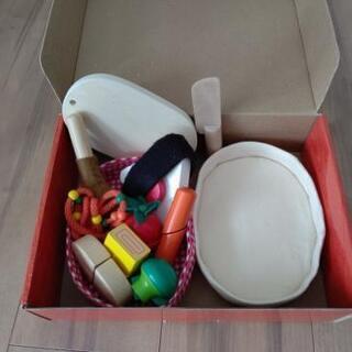 木と布のコラボ  Lunch box picnic   Ed.I...