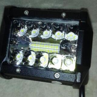 ①新品 3列 LEDワークライト 60W - 呉市