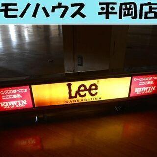 Lee EDWIN 電飾 看板 店頭販促品 オブジェ ディスプレ...