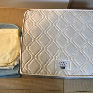 KATOJI ベビーベッド用マットレス 70×120センチ シー...