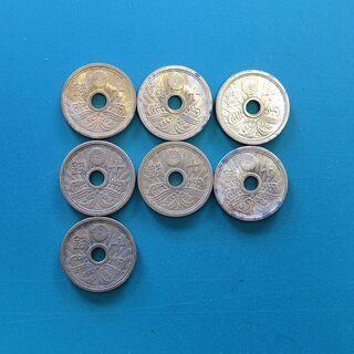 ⑨ 昭和十三年 十銭アルミ青銅貨