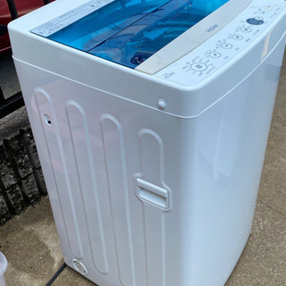 2018年製!ハイアール 4.5kg 全自動洗濯機 ホワイ…