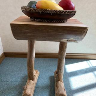 流木の花台スツール流木椅子ディスプレイ台