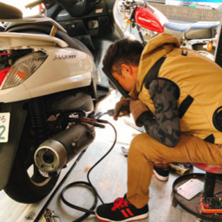 バイクの修理致します^^