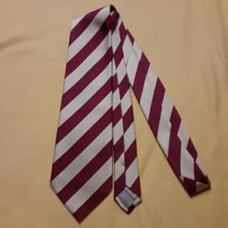 無印のネクタイ(絹100%国産品)