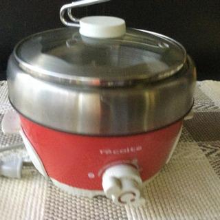 レコルト 電気小鍋 電気鍋