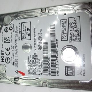 2.5 HDD 7mm HTS545032A7E380 No.10