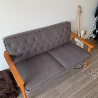 二人掛けソファの画像