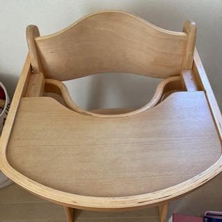 お譲り先決まりました! 幼児用椅子  テーブル付