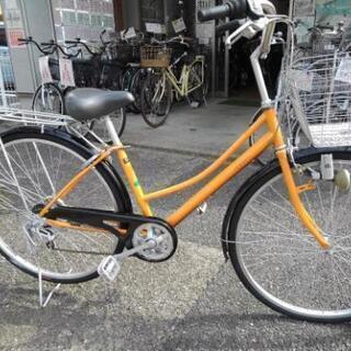 中古自転車1167 前後タイヤ新品! 27インチ 6段ギヤ…