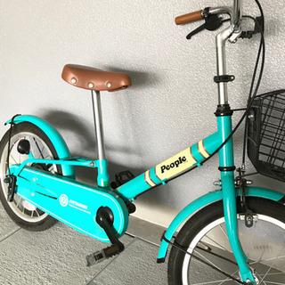 ⚠️21時まで❗️お値下げ🎉子供用自転車 people 🚴♀️