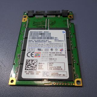 Samsung uSATA接続 SSD Thin 64GB u...
