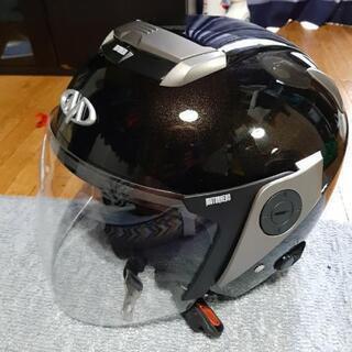 最終美品早い者勝ちジェットヘルメットダブルシールド