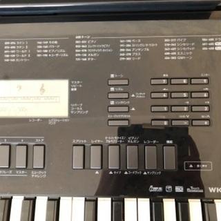 【商談中】CASIO カシオ  キーボード WK-245 76鍵盤 - 楽器