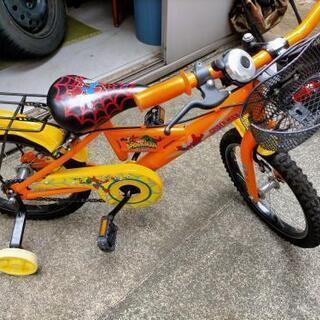 子供用自転車 補助輪付き