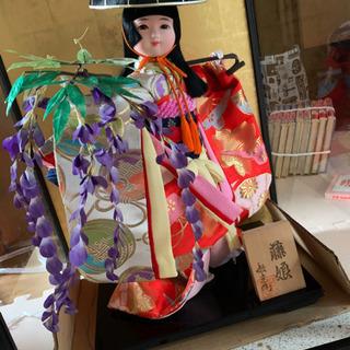 藤娘 日本人形④
