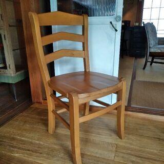 しっかりとした作りの椅子