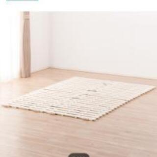 スノコ ベッド 布団 ダブルサイズ