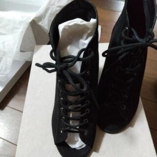 お値下げしました‼️     黒い靴👢✨ - 廿日市市