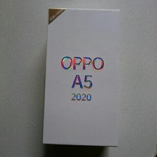【ネット決済・配送可】oppo a5 2020  ブルー 新品未使用