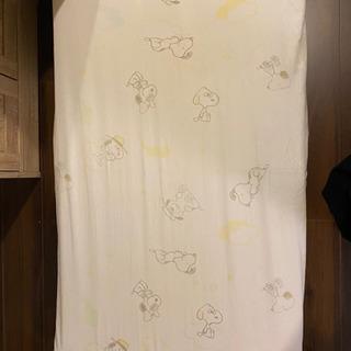 ベビーベット(120×70)用のマットレス&スヌーピーカバー