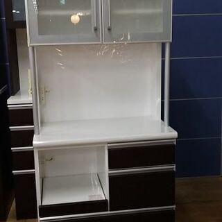 【店舗同時販売中】 シギヤマ家具工業 サンモア 2枚扉キッチンボ...