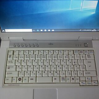 (代引可能)WIN10 FUJITSU FMV BIBLO NF50W(4台目) - パソコン