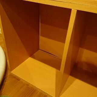 カラーボックス2つあげます - 家具