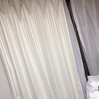 遮光カーテン ストライプ