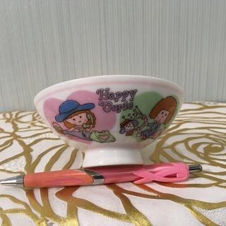 ⭕️差し上げます⭕️✨【未使用美品】お子様用お茶碗 昭和レ…