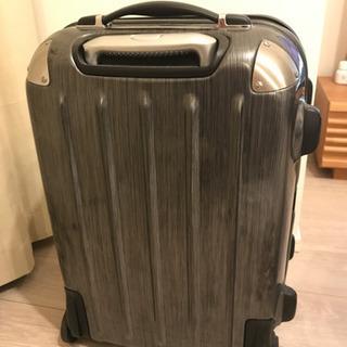 【取りに来ていただける方】黒スーツケース - 生活雑貨