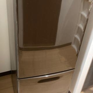 Panasonic冷蔵庫 ブラウン