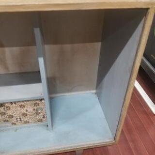 飾り棚 昔の家具 − 山口県