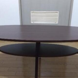 センターテーブル ローテーブル 収納つき