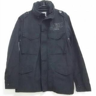 アビレックス AVIREX ジャケット ブルゾン サイズM 黒 メンズ