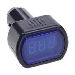 デジタル電圧計 バッテリーチェッカー シガー
