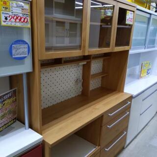 3面食器棚 レンジボード 大型食器棚 140幅×50×196高c...