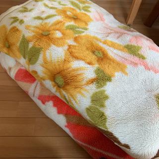【お渡し済み】シングル 毛布