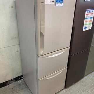 HITACHI 3ドア冷蔵庫 R-27FV 2016年製 …